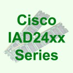 Cisco IAD24xx Integrated Access Devices