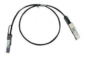40GBASE-CR4 QSFP+ direct attach copper passive cable, 1 meter